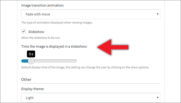 Slideshow plugin for Photo Selector - 1